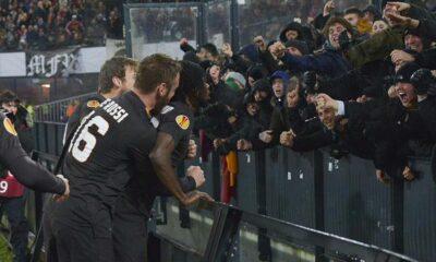 La Roma espugna il ring del 'De Kuip': 2-1 al Feyenoord