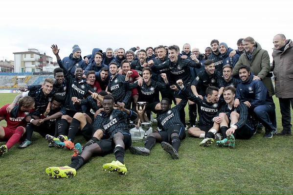 L'Inter vince il Torneo di Viareggio.