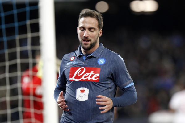 Napoli-Inter 1-0, Higuain