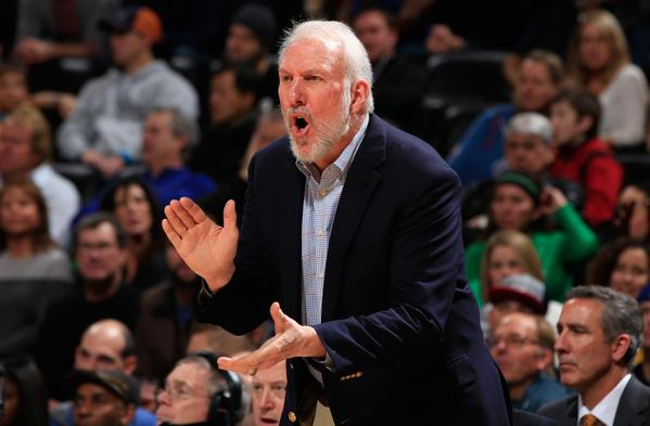Millesima vittoria in carriera Nba per Gregg Popovich.