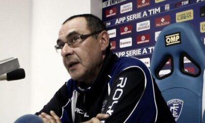 Sarri nella conferenza stampa pre-Chievo