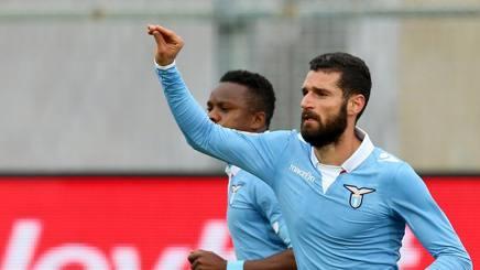 Candreva Udinese-Lazio.