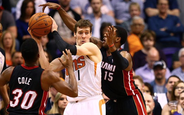Goran Dragic, scambiato alla deadline Nba adesso giocherà per gli Heat di Wade, Bosh e Whiteside