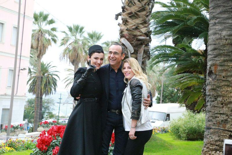 Sanremo 2015: Carlo conti e le sue donne Sanremesi