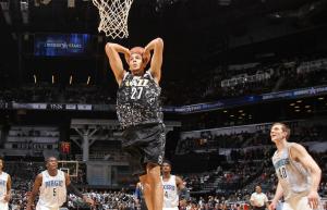 Partita di altissimo livello anche per il francese degli Utah Jazz: Rudy Gobert