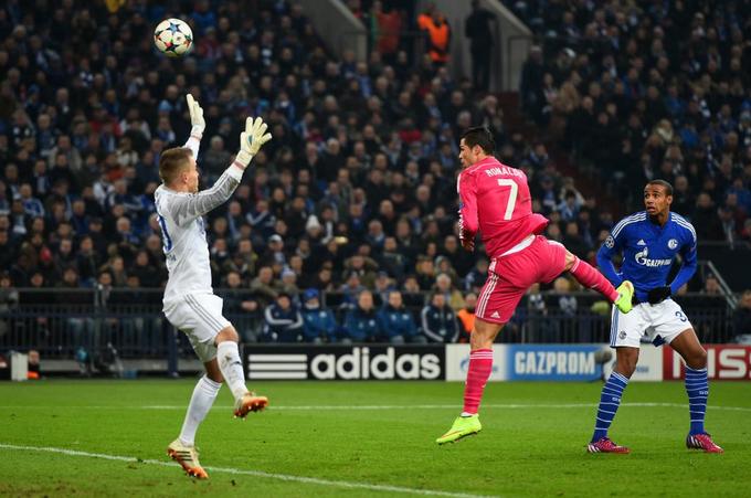 Schalke-Real Madrid 0-2: due lampi di Ronaldo, Ancelotti ipoteca gli ottavi