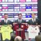 Milan, la presentazione di Destro, Antonelli, Paletta, Bocchetti e Suso