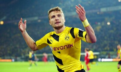 Ciro Immobile ha messo a segno solo 3 gol in Bundesliga con la maglia del Borussia Dortmund.