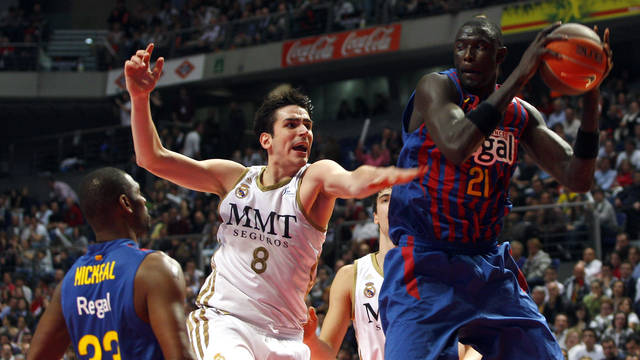 Real Madrid-Barcellona Eurolega.