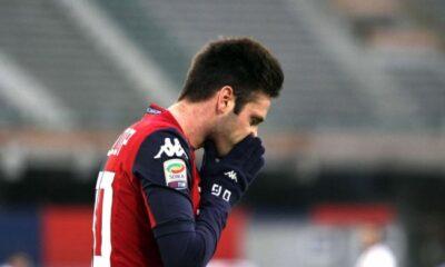Duje Cop, attaccante del Cagliari