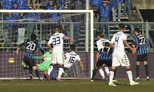 Daniele Dessena, autore del gol del provvisorio pareggio del Cagliari