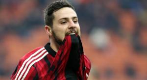 Destro, autore del momentaneo 1-0 per il Milan
