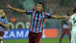 Oscar Cardozo, attaccante del Trabzonspor.