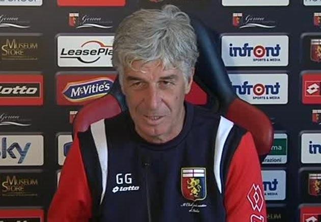 Domani ci sarà Lazio-Genoa e Gasperini vuole bissare i successo dell'andata.