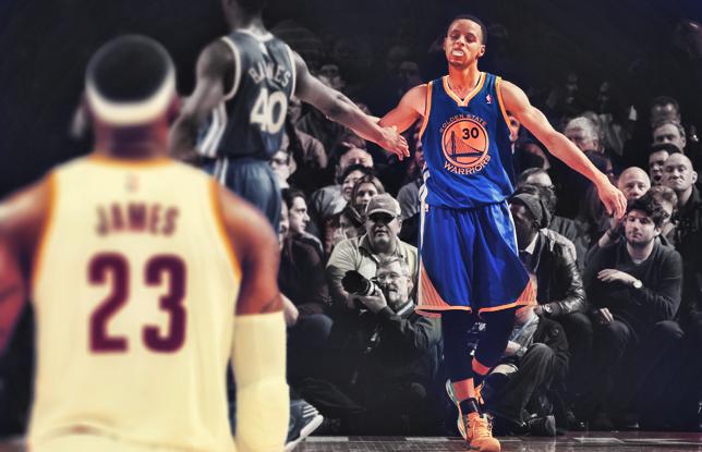 LeBron e Curry, siamo ai nastri di partenza delle finals Nba