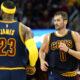 Kevin Love e Lebron James, ali dei Cleveland Cavaliers