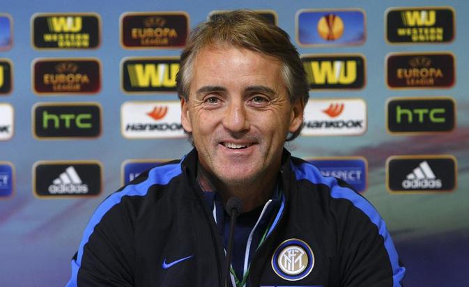 Roberto Mancini, tecnico dell'Inter.