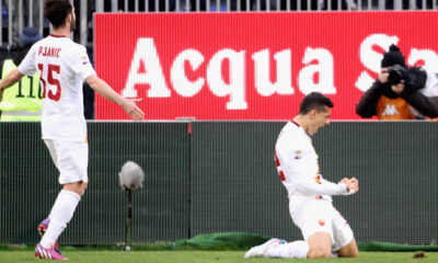 Cagliari-Roma 1-2: Paredes mette a segno il gol del raddoppio