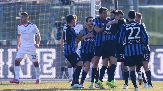 Atalanta-Cagliari finisce 2-1
