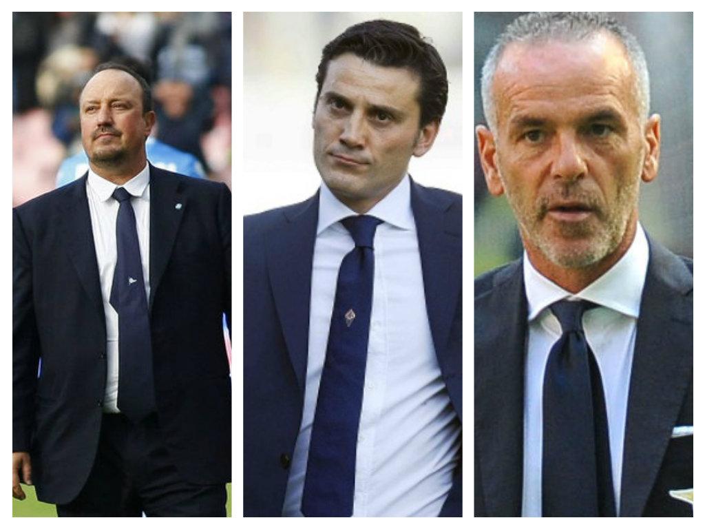 Benitez, Montella e Pioli terzo posto.