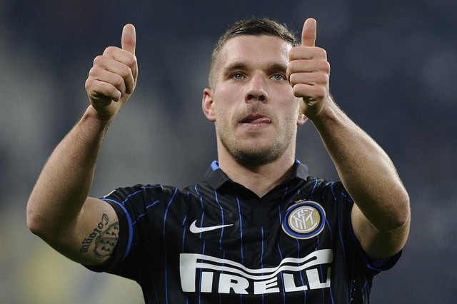 Lukas Podolski, ritrovato in casa Inter