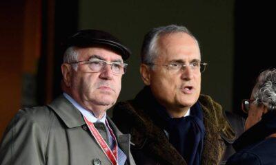 Tavecchio e Lotito, le due figure di spicco del calcio italiano