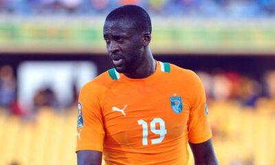 Yaya Touré, giocatore della Costa D'Avorio e del Manchester City