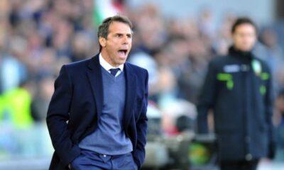 Gianfranco Zola, tecnico del Cagliari impegnato nella lotta salvezza