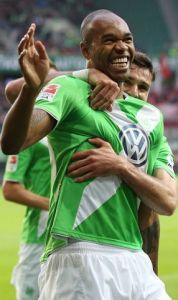 Naldo, uno dei pilastri della difesa del Wolfsburg