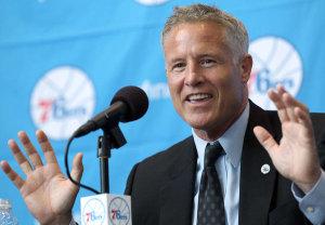 Brett Brown, allenatore dei derelitti Philadelphia 76ers