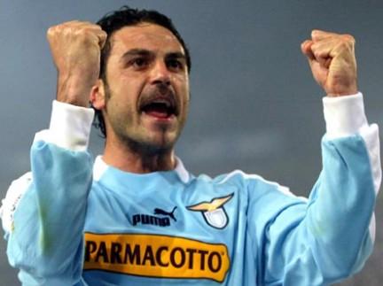 Stefano Fiore decise con una doppietta il trionfo della Lazio nella Coppa Italia nel 2003/2004.