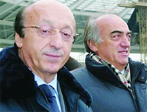 Antonio Giraudo e Luciano Moggi