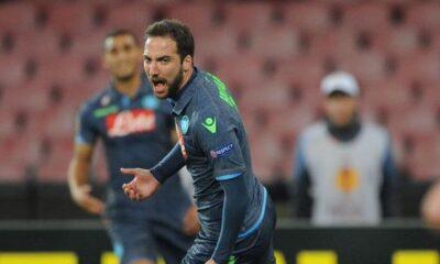 Higuain, tripletta da sogno: 3-1 Napoli alla Dinamo Mosca