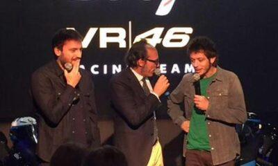 Moto3: Rossi lancia il team con Cremonini padrino