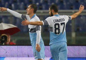 Klose, autore del momentaneo vantaggio della Lazio