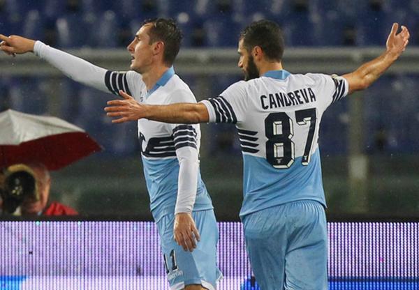Klose, Napoli-Lazio.