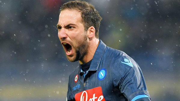 Higuain,una delle stelle dell'Italia per la rincorsa al Ranking Uefa