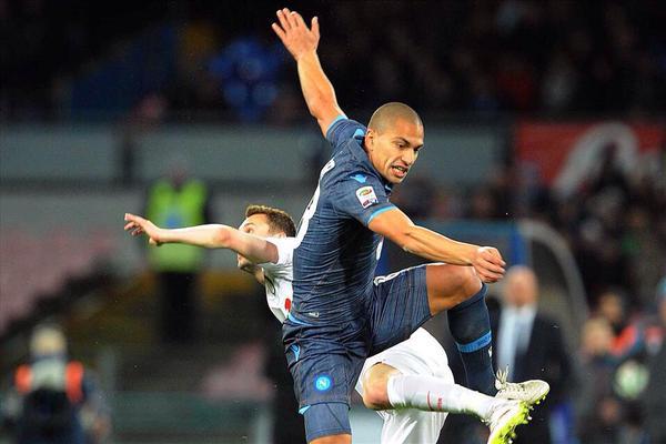 Anche Napoli-Inter al centro dei Tweet sulla Serie A.