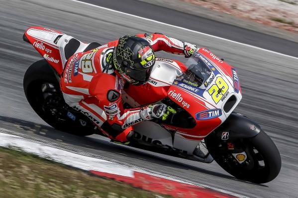 MotoGP, test Qatar: la Ducati in vetta nel Night1