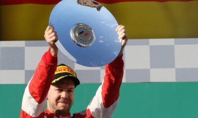 Vettel sul podio a Melbourne