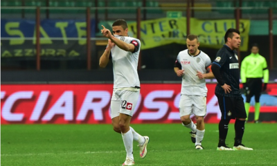Inter-Cesena 1-1.