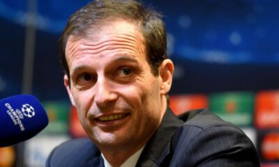 Allegri, la sua Juventus aspetta di conoscere l'avversario nei quarti di Champions