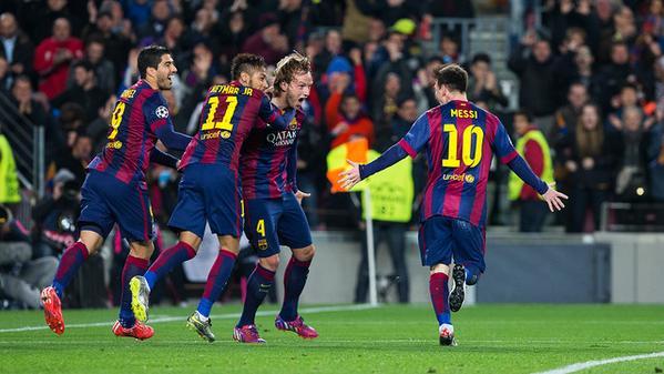 Il Barça dei marziani nella Top 11 della Champions League.