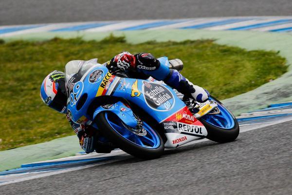 Moto3, test Jerez: Navarro il più veloce