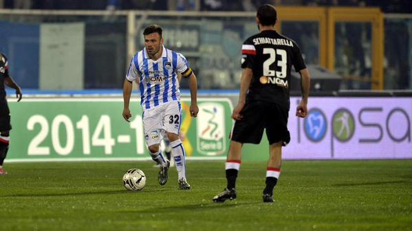 Serie B, 32^ giornata: Pescara e Bari ci provano, ma finisce 0-0