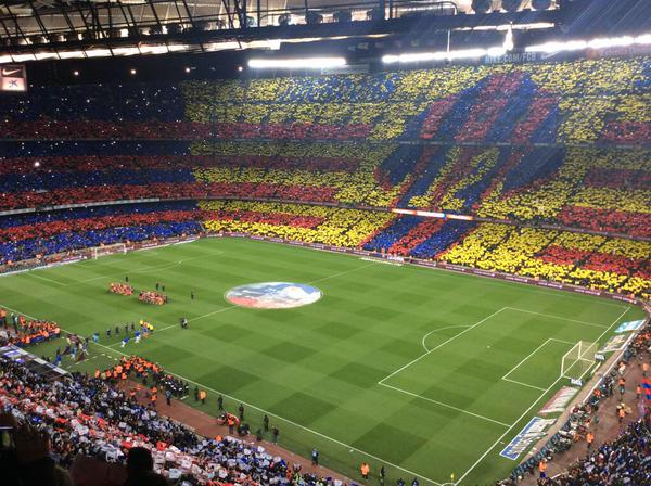 Barcellona-Real Madrid 2-1, Camp Nou