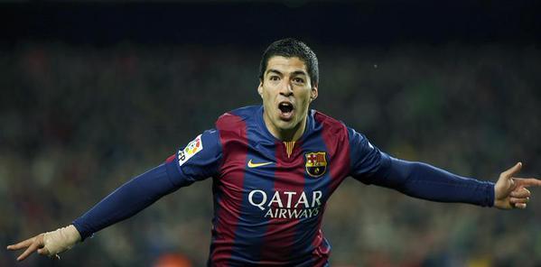 Luis Suarez, autore del gol vittoria nel Clasico
