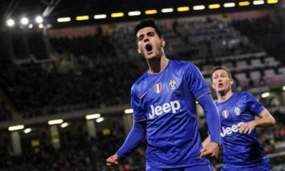 Morata, Palermo-Juventus 0-1
