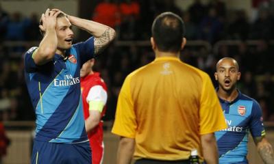 L'Arsenal sfiora l'impresa: 2-0 allo Stade Louis II. Passa il Monaco