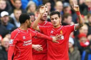 Il Liverpool batte il City 2-1 grazie ad un gol di Coutinho.